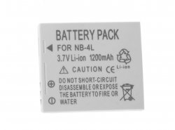 Batterie NB-4L Green Cell ® Zur Kamera Canon Digital IXUS 70 75 175 Digital IXY 10 70 110 Powershot SD600 SD1000